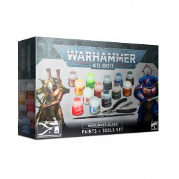 warhammer 40,000 paints+ tools set
