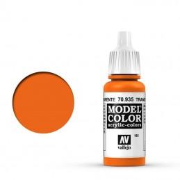 transparente orange