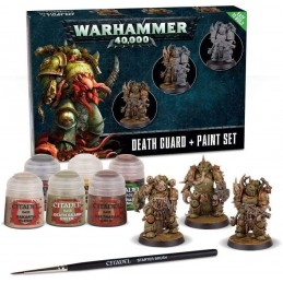 DEATH GUARD + PAINT SET...