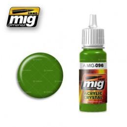 AMMO MIG: 096 CRYSTAL GREEN...