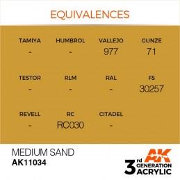 AK11034 MEDIUM SAND – STANDARD