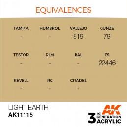 AK11115 LIGHT EARTH – STANDARD