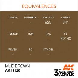 AK11120 MUD BROWN – STANDARD