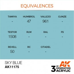 AK11175 SKY BLUE – STANDARD